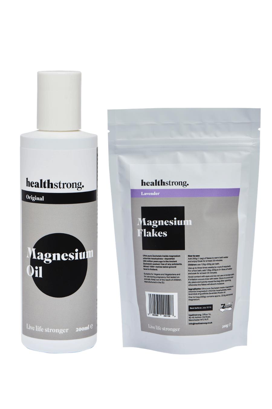 magnesium oil magnesium flakes
